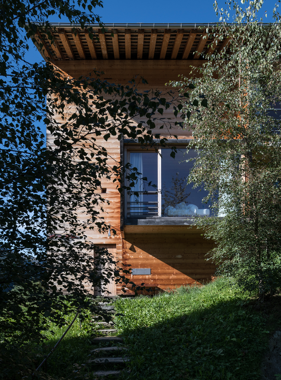 Leis Vacation Homes – Peter Zumthor, commissioned.